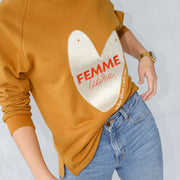 Femme Libre Embroidered Jumper (Toffee)
