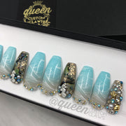 Beach Bliss- press on nails