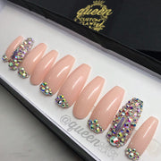 Blush N Bling- press-on nails