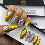 So Extra- Luxe Bling & Holo press on nails