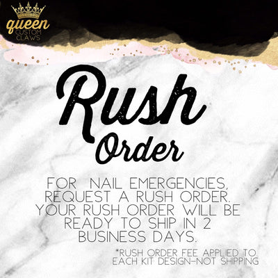 Rush Order Fee-for press-on nails