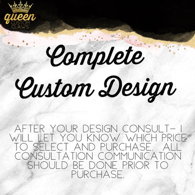 Complete Custom Nail design