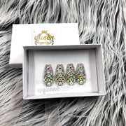 4 Bling Accent press on nails