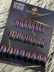 Ready2Wear | Chameleon Oil Slick Press-on nails