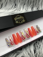 Fire & Ice - press-on nails