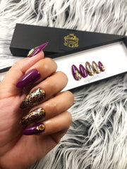 Snake Charmer Press on Nails