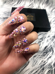 Off the Chain Full Bling - Press on nails