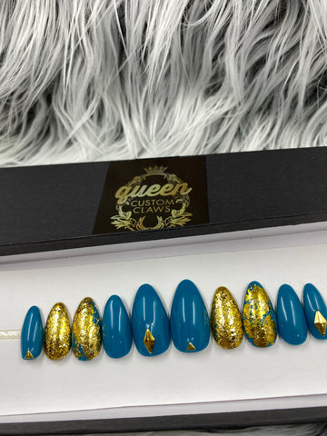 Ready2Ship- Guilded Gold Teal