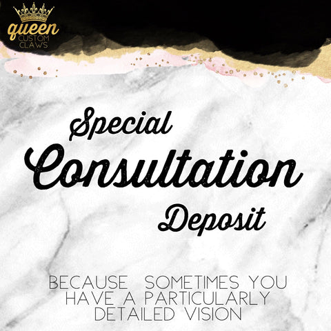 Special Consultation Deposit -for press-on nails