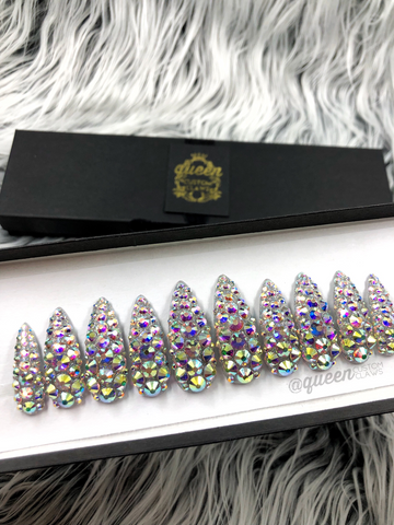 The Drip. Full Bling - Press on nails