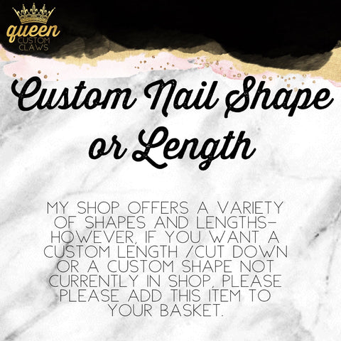 Custom Shape/length