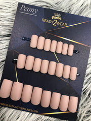 Ready2Wear | Square Matte Press-on nails