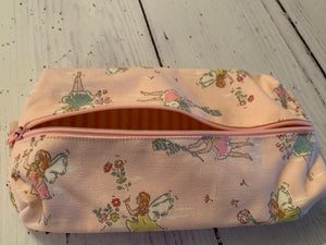 Handmade pencil case in a beautiful Fairies fabric