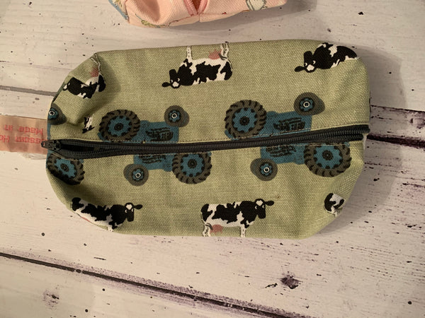 Handmade pencil case in Farmyard by Sophie Allport