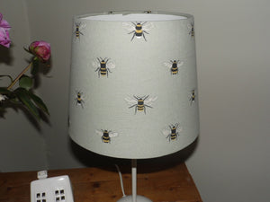 Stunning tapered Lampshade in Sophie Allport 'Bees'