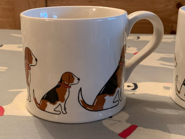 Beagle mug by Sweet William Designs