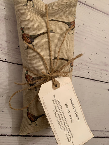 Wheat and Lavender Heat pack. In Flohr & Co Pheasant