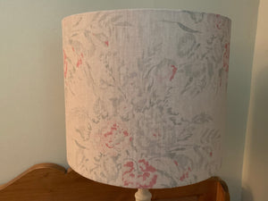 Peony and Sage on vintage Stone linen by Peony and Sage