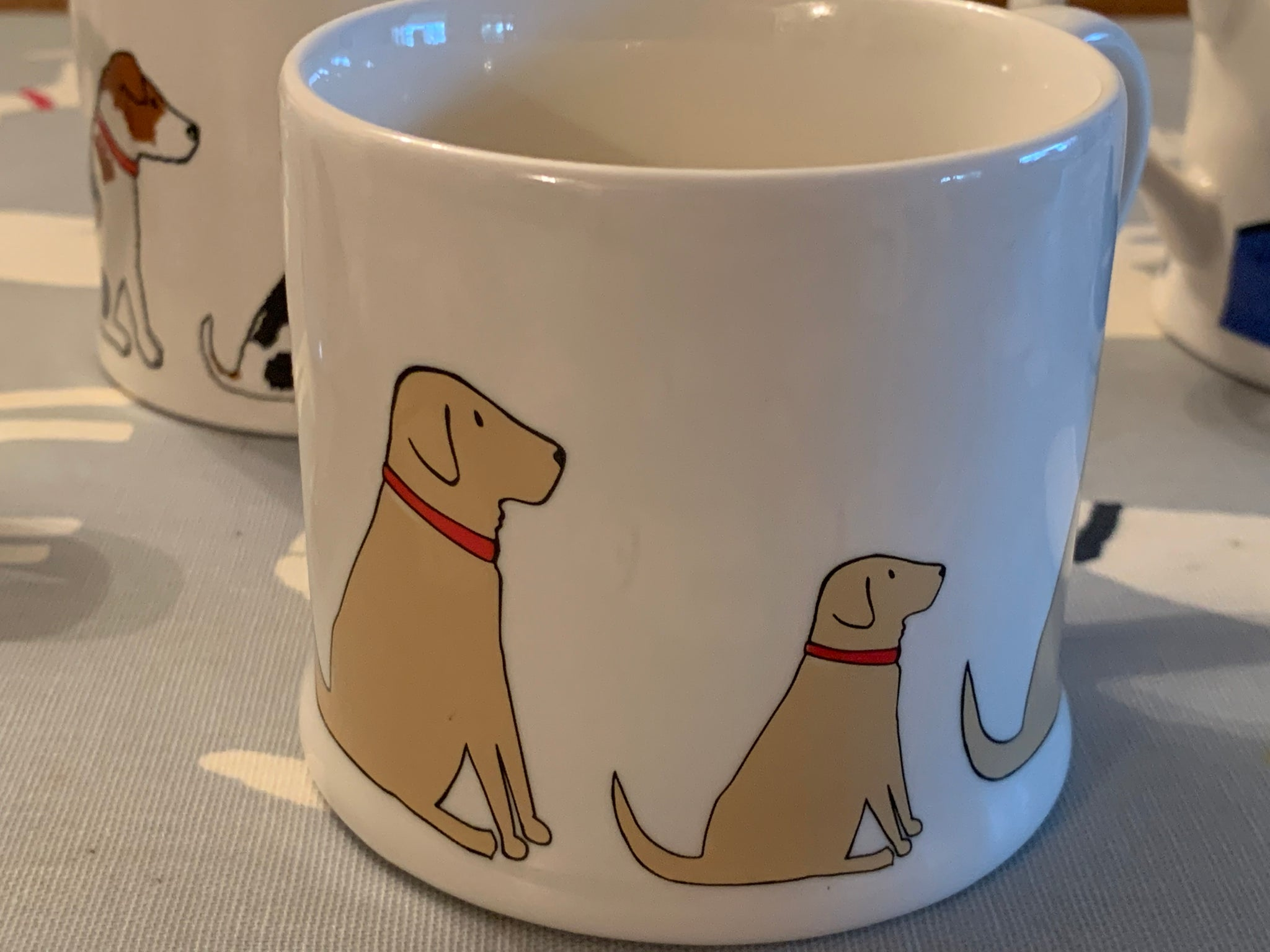 Yellow Labrador mug by Sweet William designs