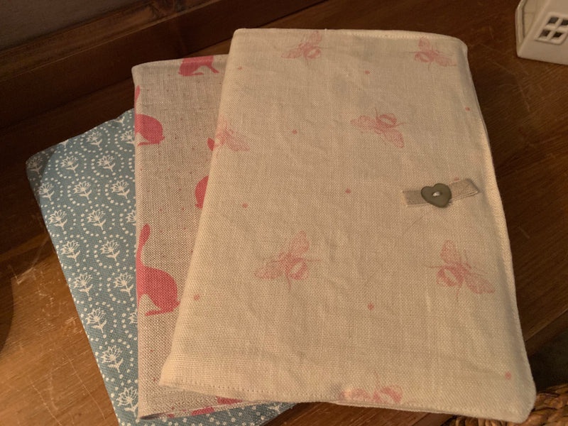 Beautiful 2021 diary in Peony and Sage Busy Bees