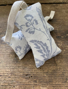 Lavender infused door hanger French toile Cabbages and Roses