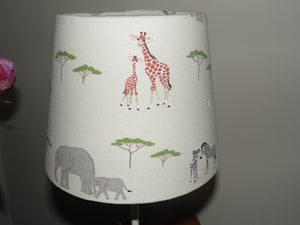 Stunning tapered Lampshade in Sophie Allport 'Safari'