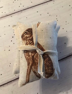 Medium Lavender Bundle in French Hares by Peony and Sage