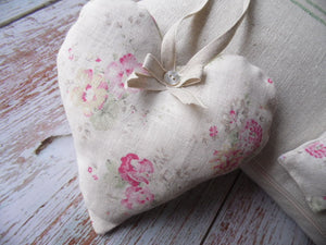Stunning lavender infused heart in Sweet peas and Roses by Peony and Sage