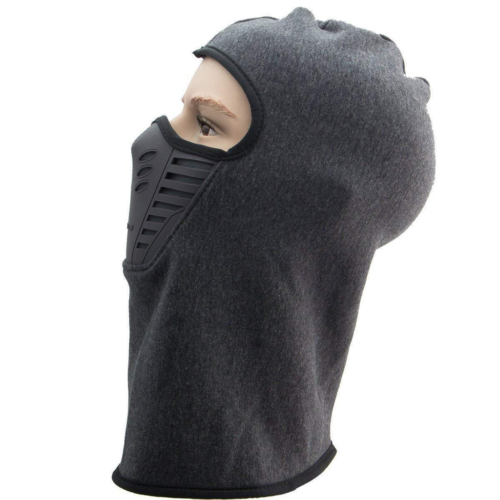 Xelement Winter Fleece Full Face Grey Balaclava