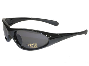 Men's Blaze Black sunglasses With Smoke Lens