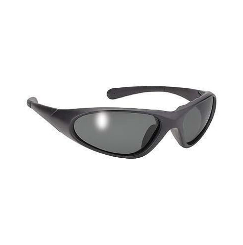 Image of Men's Blaze Black sunglasses With Smoke Lens