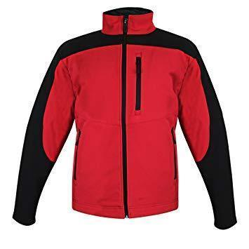 Image of Storm Creek Men's Red/Black StormX Soft Shell Jacket