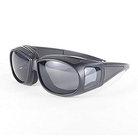 Pacific Coast Defender 5500 Smoke Lens Wear Over Sunglasses