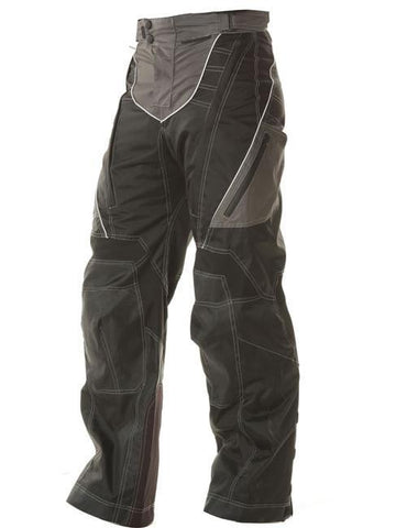 Image of Xelement B4402 Men's Black Advanced Level-3 Tri-Tex Fabric Motorcycle Pants
