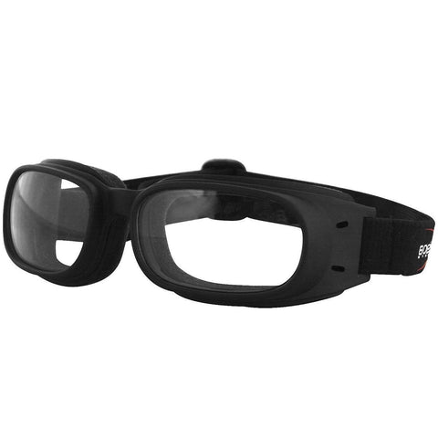 Image of Bobster Piston Black/Clear Goggle