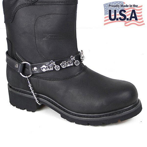 Image of Motorcycle Cruiser Bike Boot Chain