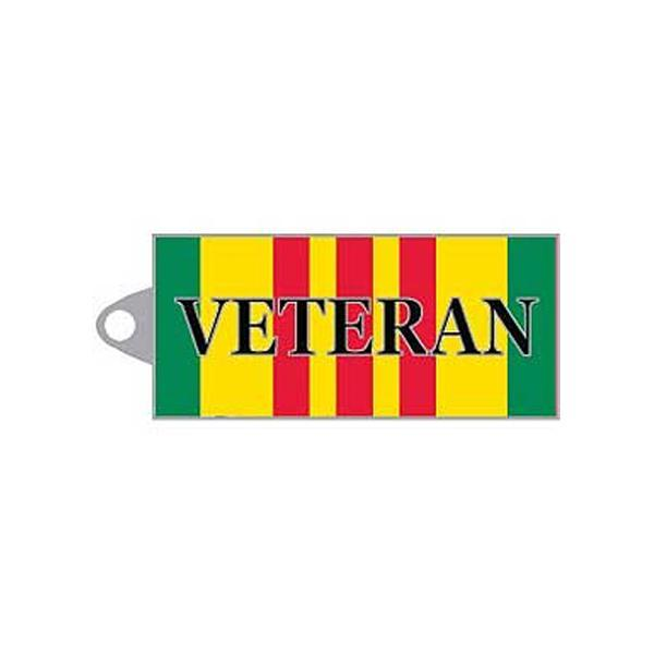 Key Chain Veteran Ribbon