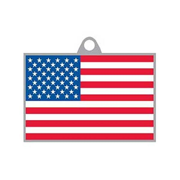 Key Chain USA Flag