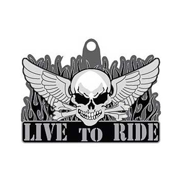 Key Chain Live To Ride