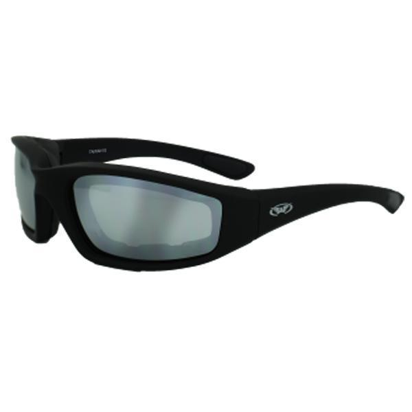 Global Vision 'Kickback M' Mirror Lens Sunglasses