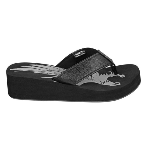 Image of Xelement LU8592 Women's Black Eagle Sandals