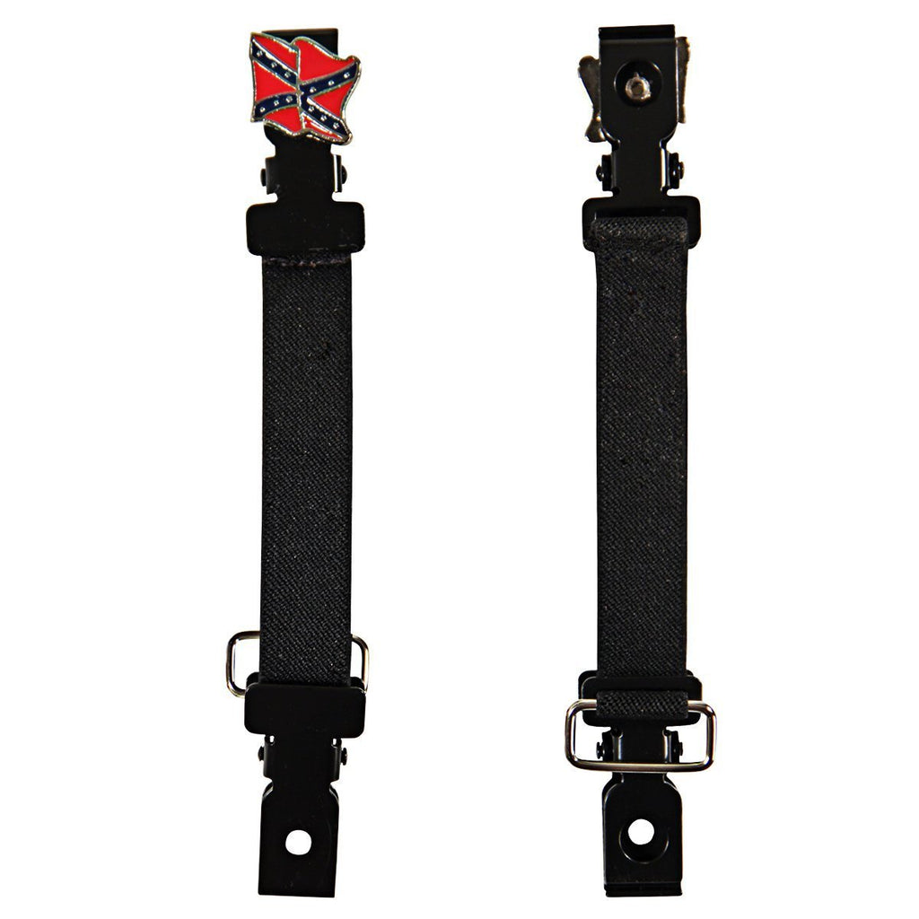 Pant Bungee with Confederate Flag Concho