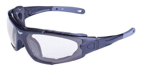 Global Vision Shorty Kit Safety Glasses with Smoke/Clear 24 Hour Transitional Lens