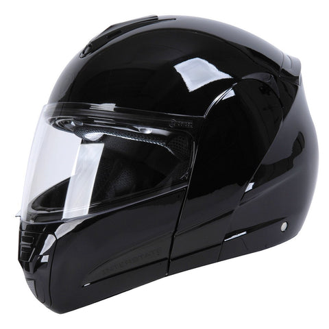 Torc T-22 Interstate Glossy Black Modular Helmet