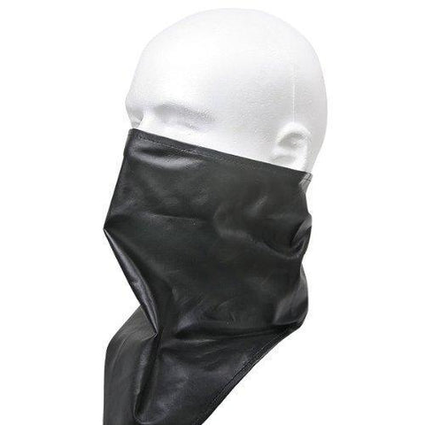 Xelement XF1366 Black Leather Motorcycle Bandanna