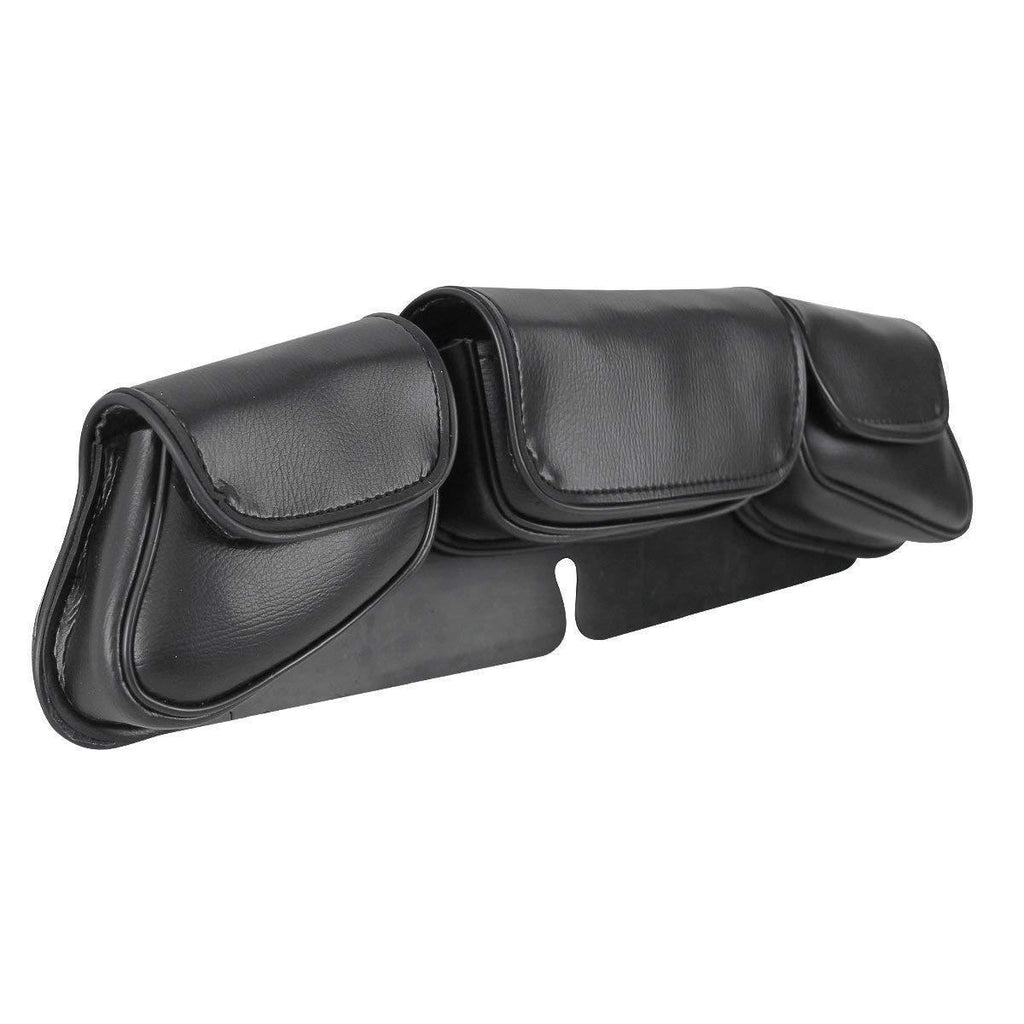 Xelement XS67104 'Safe Keep' Black Motorcycle Windshield Bag