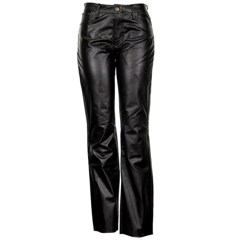 Image of Xelement XS679 Women's Black Buffalo Leather Pants