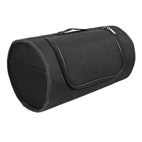 Xelement XS1553 'Excursion' Black Sissy Bar Roll Bag