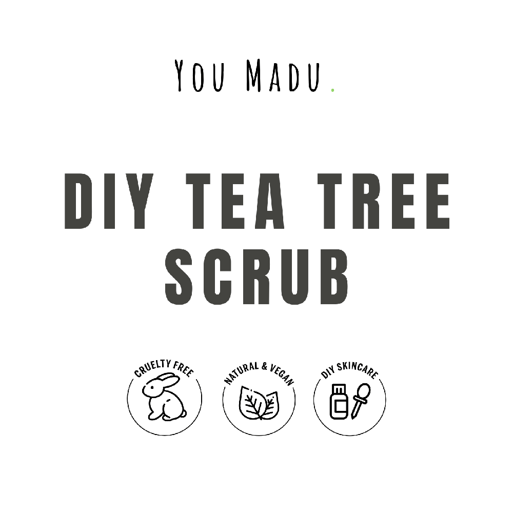 DIY Tea Tree Scrub Pakket