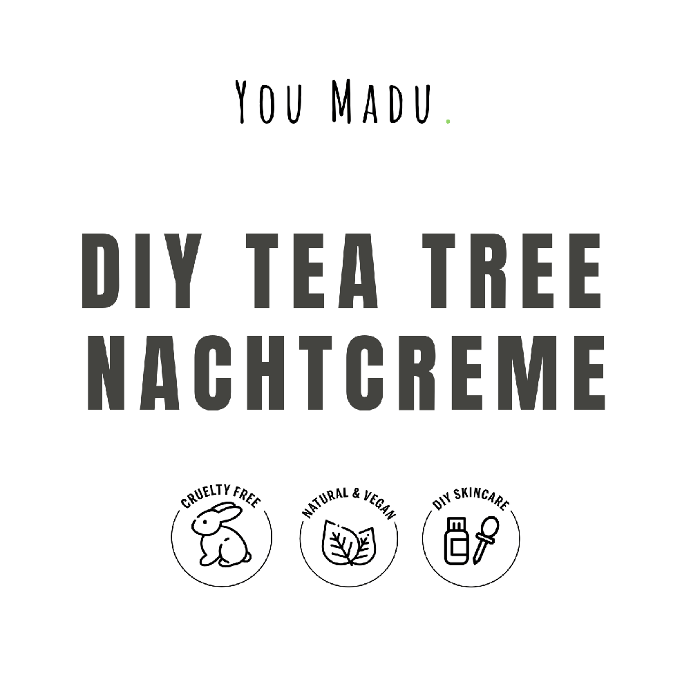 DIY Tea Tree Nachtcrème Pakket - You Madu